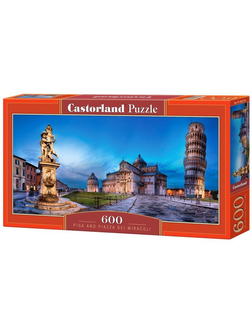 Пазл «Пизанская башня» 600 элементов