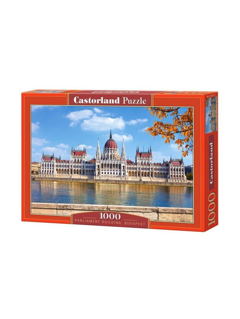 Пазл «Парламент, Будапешт» 1000 элементов