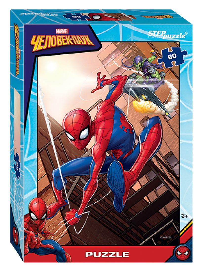 Пазл «Человек-паук - 2 (Marvel)» 60 элементов