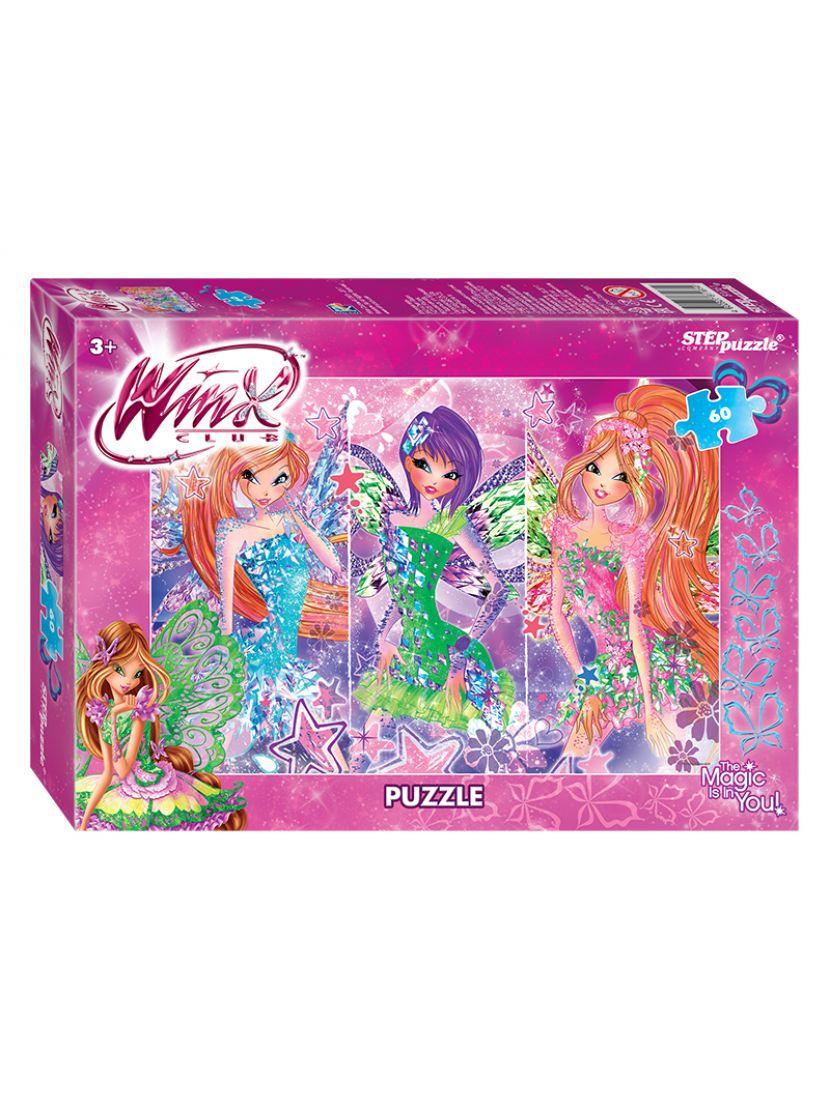 Пазл «Winx-2 (Rainbow)» 60 элементов