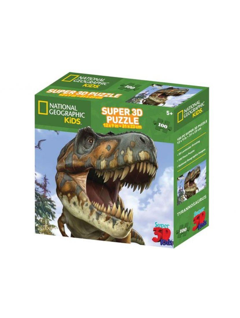 Пазл 3D «Тираннозавр» 100 элементов
