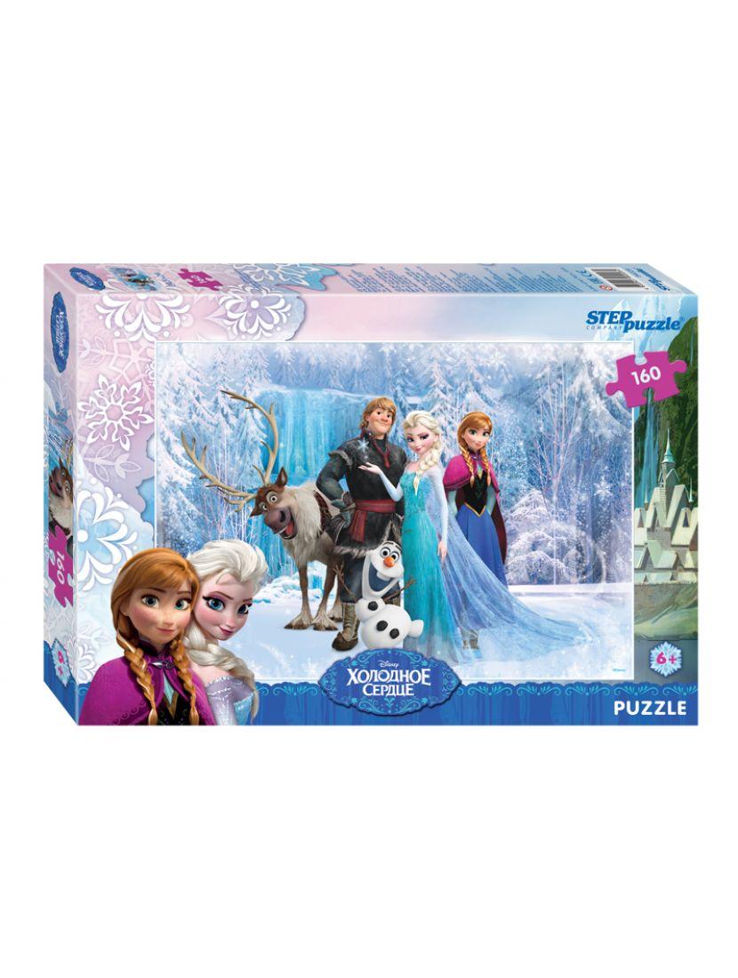 Пазл   «Disney: Холодное сердце» 160 элементов