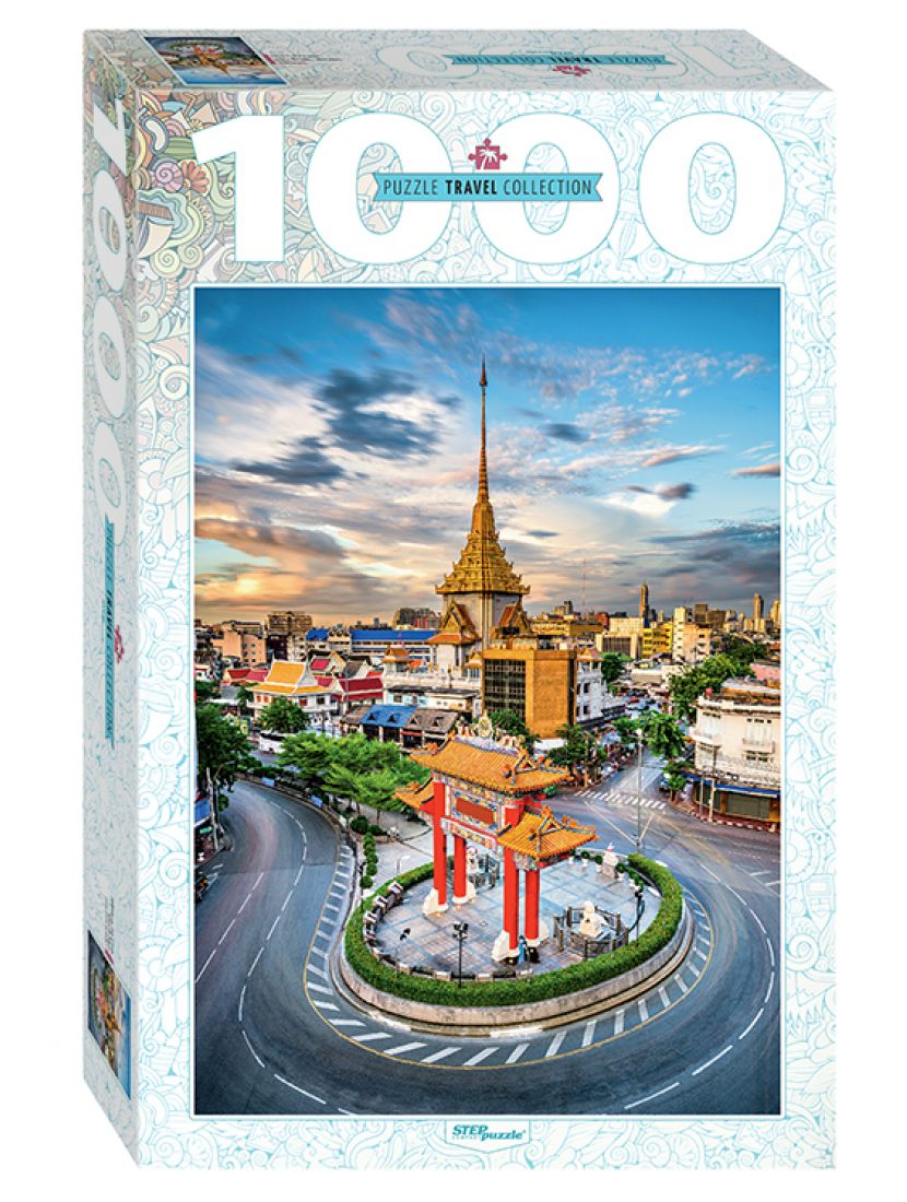Пазл «Тайланд. Бангкок. Чайна-таун» 1000 элементов
