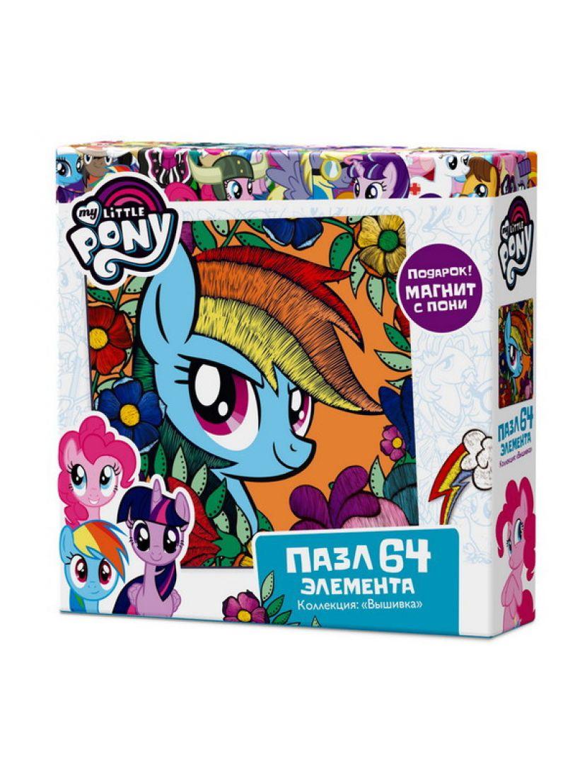 Пазл «My little pony. Радуга Дэш» 64 элемента