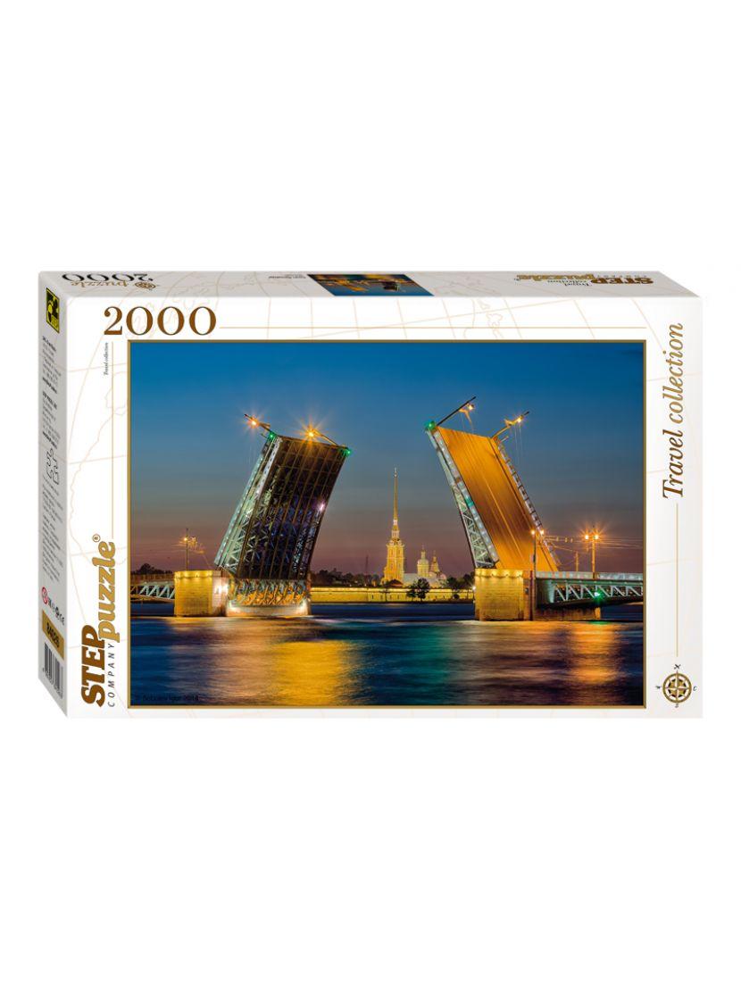 Пазл «Санкт- Петербург» 2000 элементов