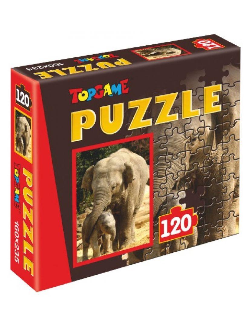Пазл   «Африка» 120 элементов