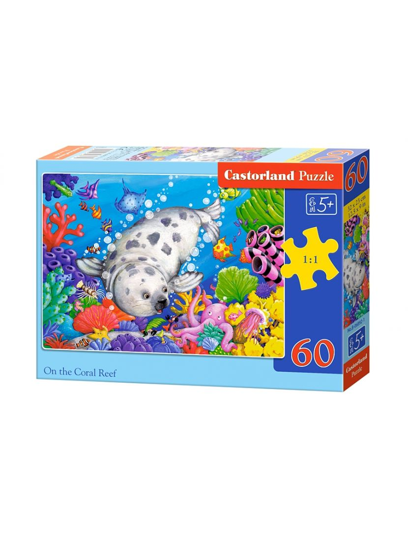 Пазл «Коралловые рифы» 60 элементов