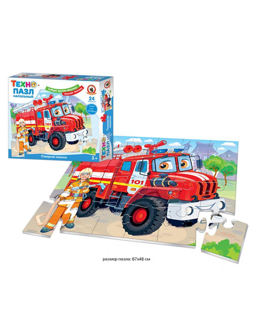 Пазл «Пожарная машина» 24 элемента
