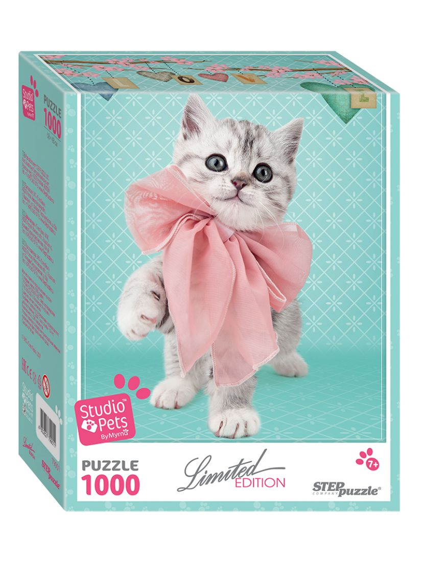 Пазл «Котёнок (Limited Edition, Studio Pets By Myrna)» 1000 элементов