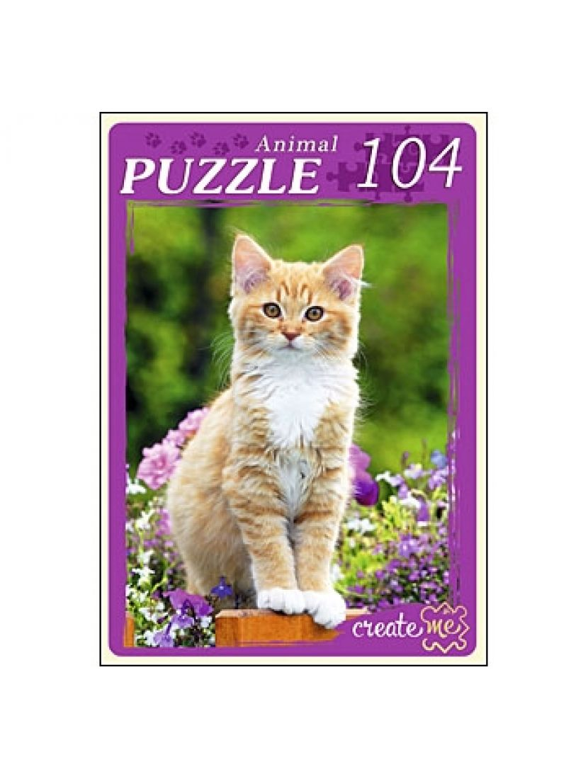 Пазл «Рыжий котёнок» 104 элемента