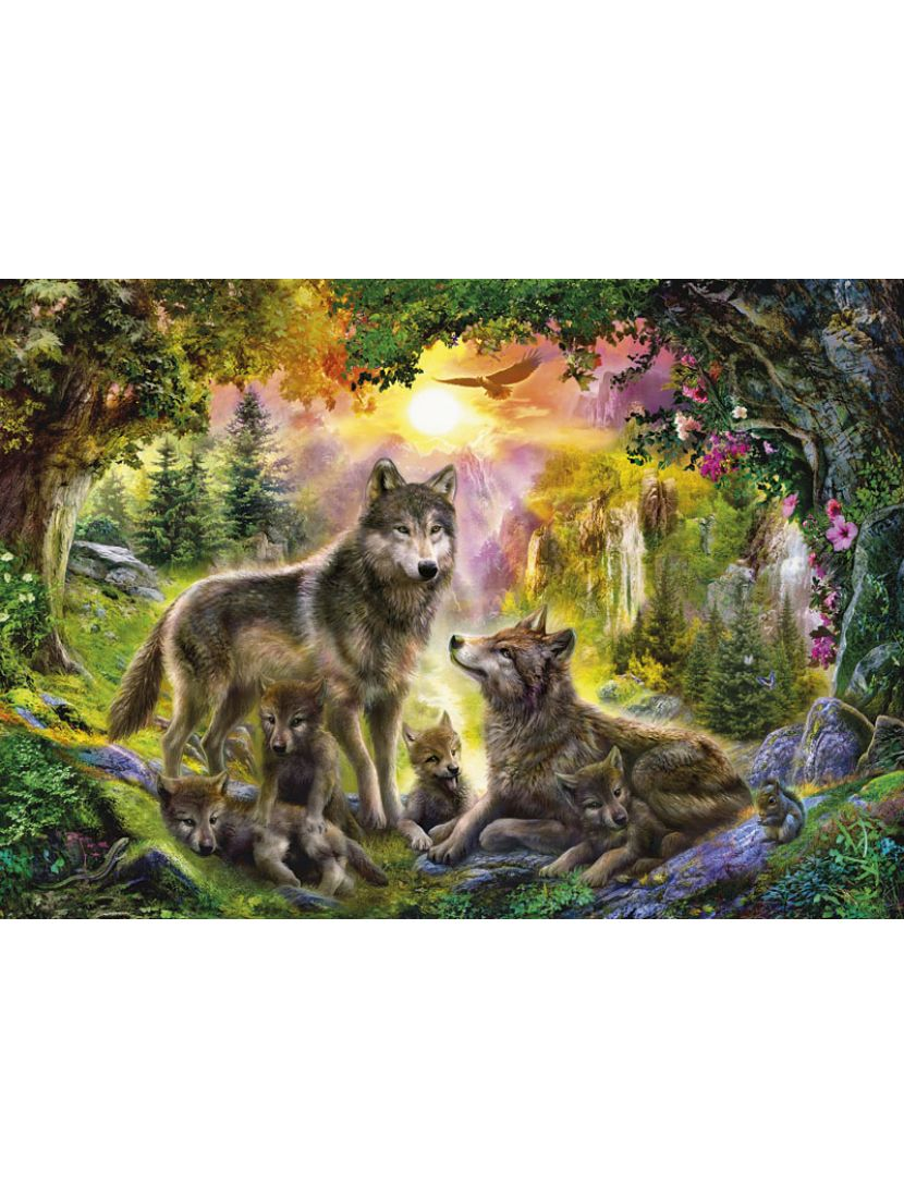 Пазл «Волки» 1500 элементов