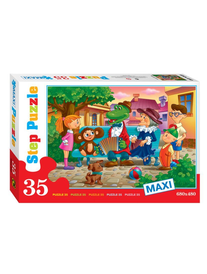 Пазл «Чебурашка» 35 элементов MAXI
