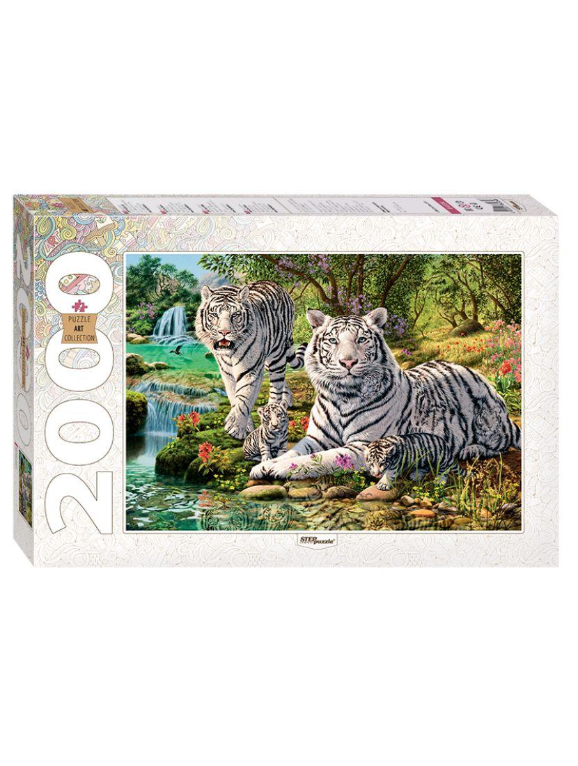 Пазл «Сколько тигров?» 2000 элементов