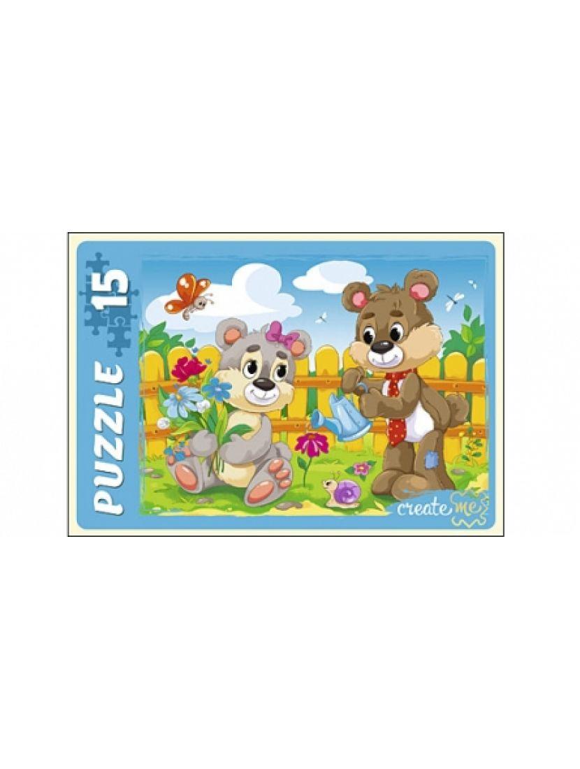 Пазл «Плюшевый мишка» 15 элементов
