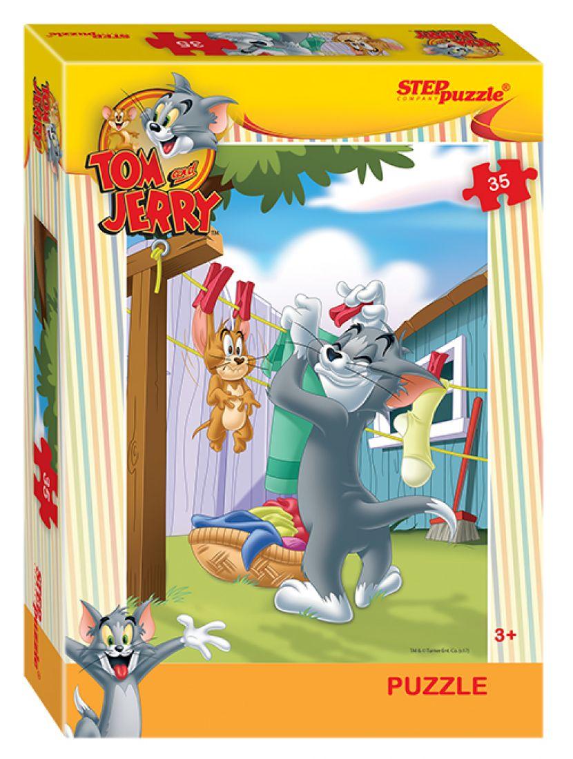 Пазл «Warner bros.: Том и Джерри» 35 элементов