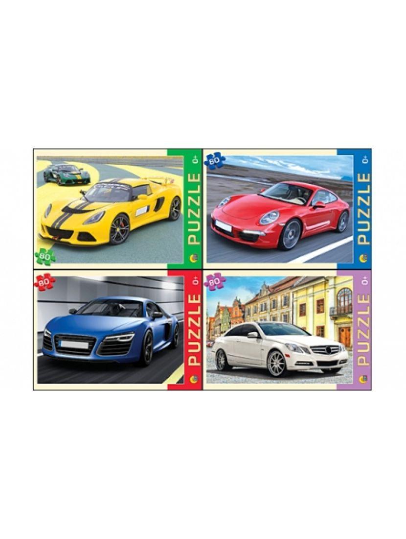 Пазл «Автомобили» 80 элементов