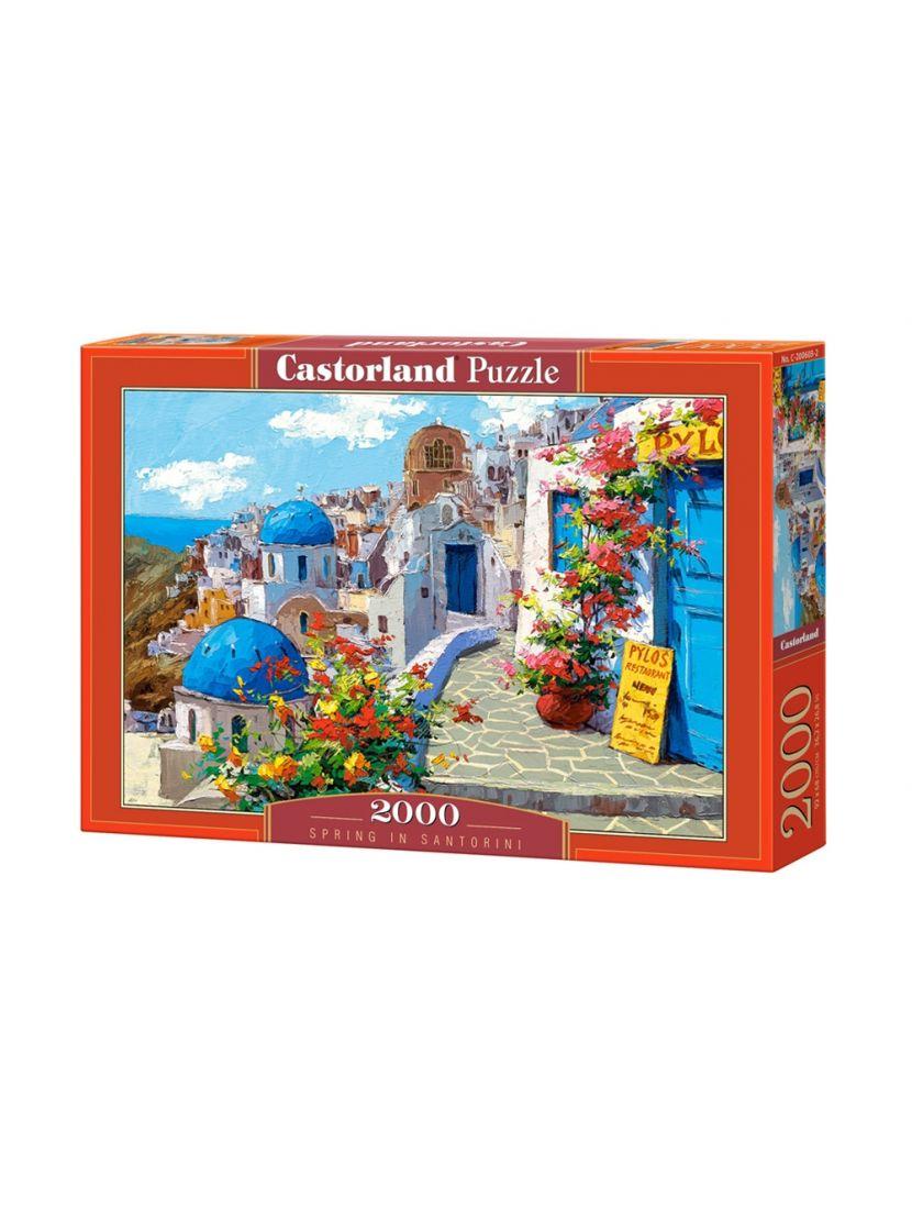 Пазл «Весна в Санторини» 2000 элементов