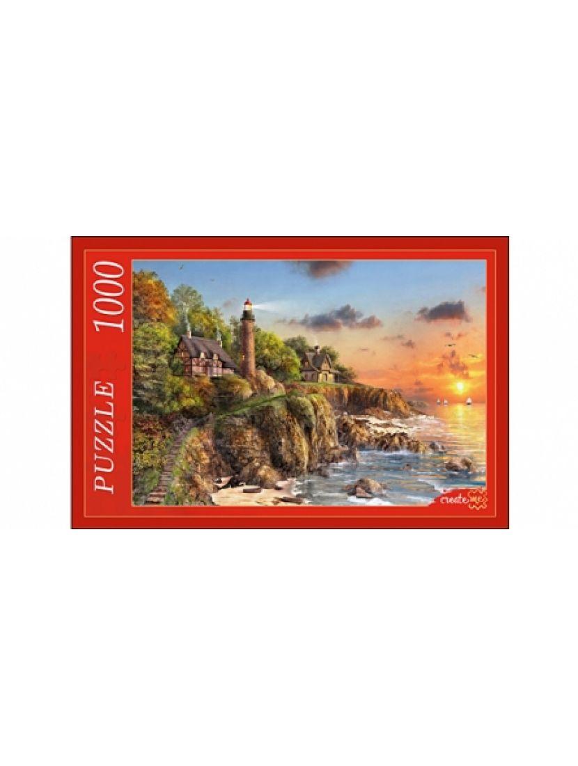 Пазл «Маяк у моря» 1000 элементов