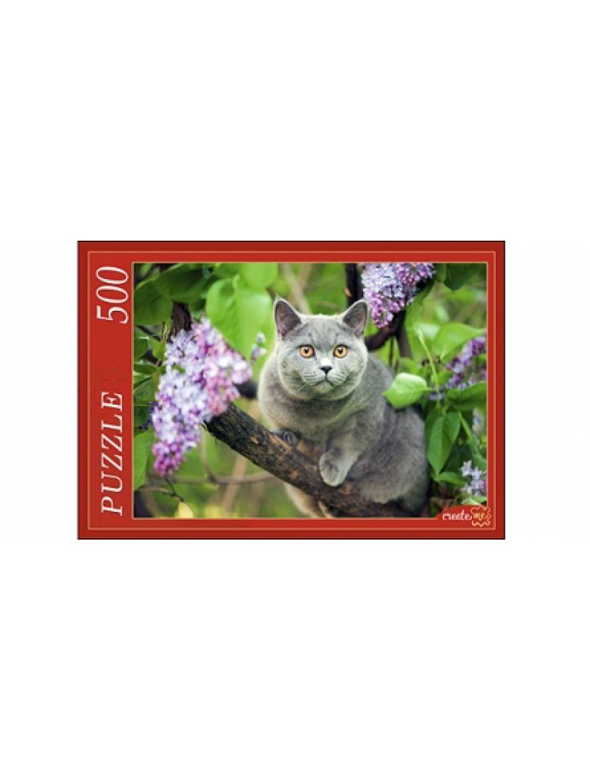 Пазл «Британская кошка» 500 элементов