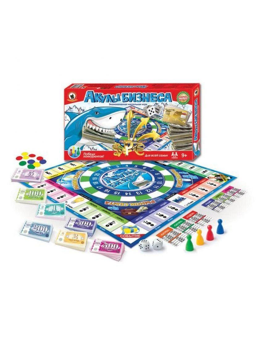 Настольная игра «Акулы бизнеса»