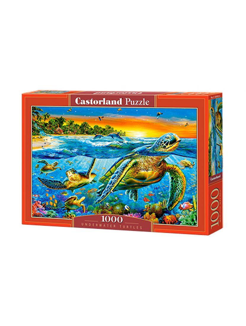 Пазл «Подводные черепахи» 1000 элементов