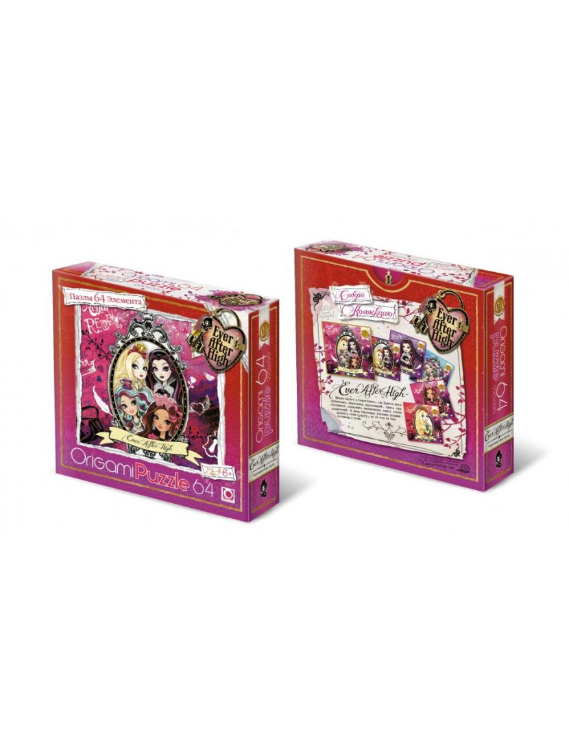 Пазл   «Ever After High» 64 элемента