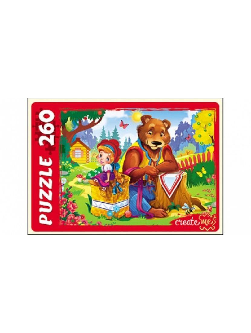 Пазл «Машенька и медведь» 260 элементов