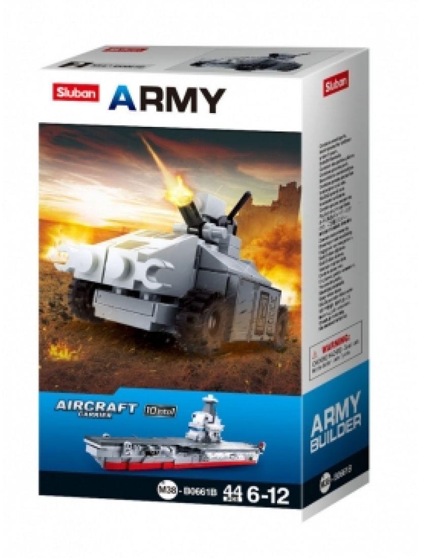 Конструктор «Армия. Танк 10 в 1» (44 детали)