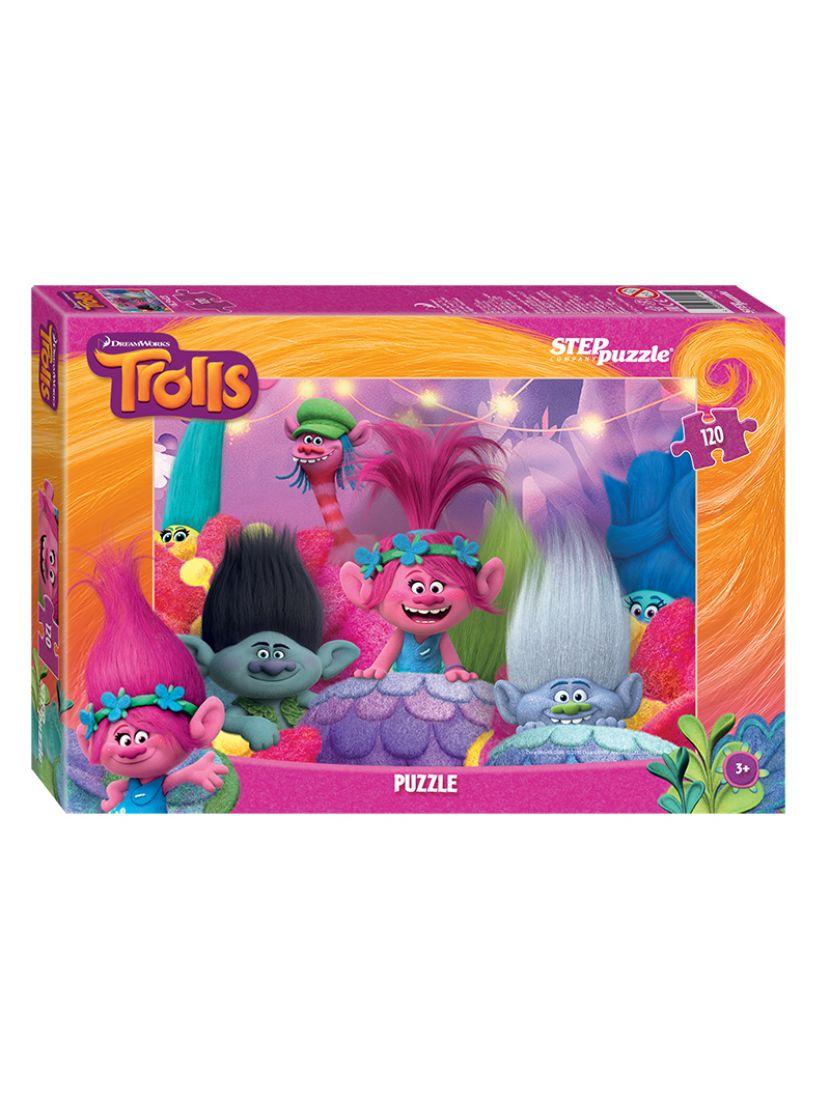 Пазл   «DreamWorks: Trolls» 120 элементов