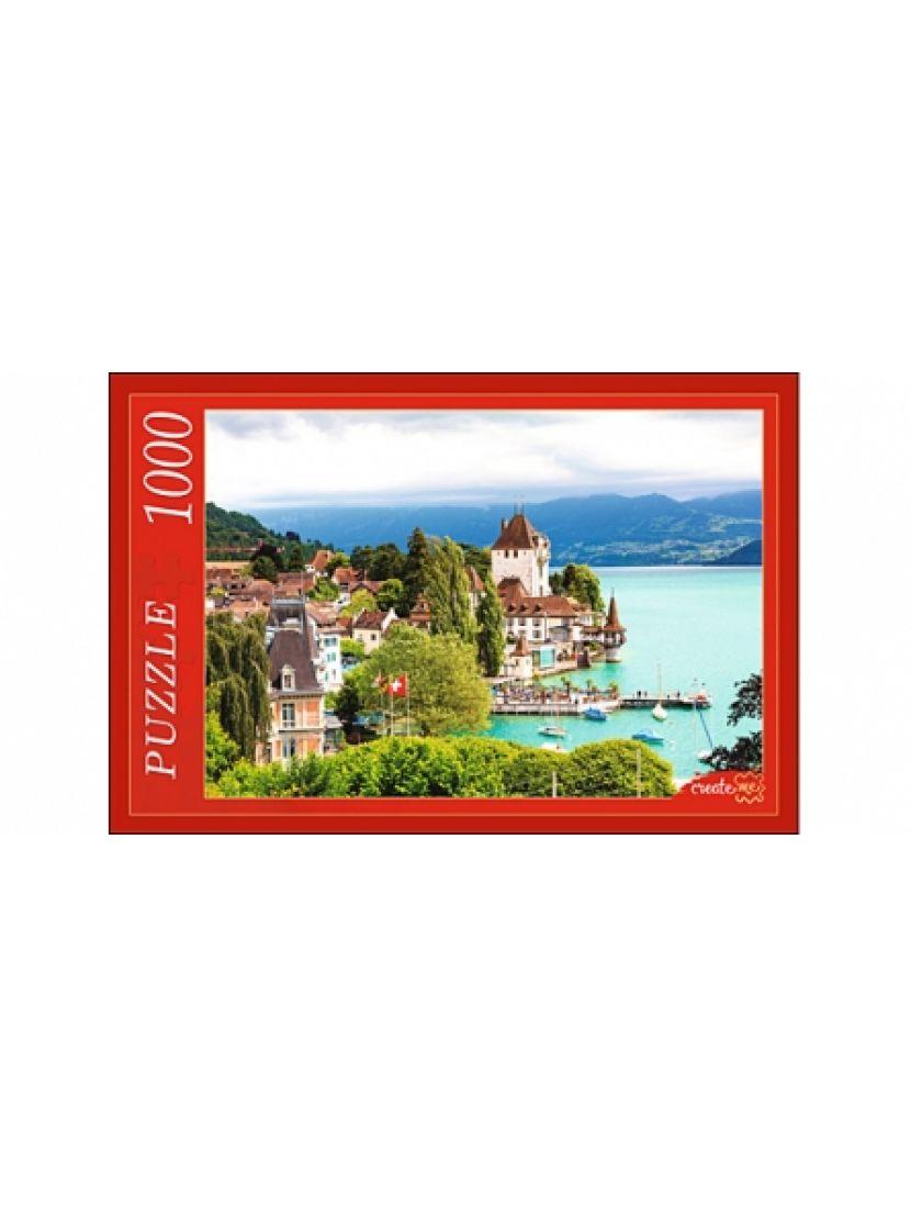 Пазл «Швейцарский замок на воде» 1000 элементов