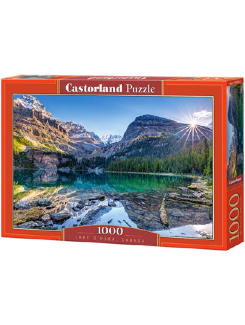 Пазл «Озеро О'Хара, Канада» 1000 элементов