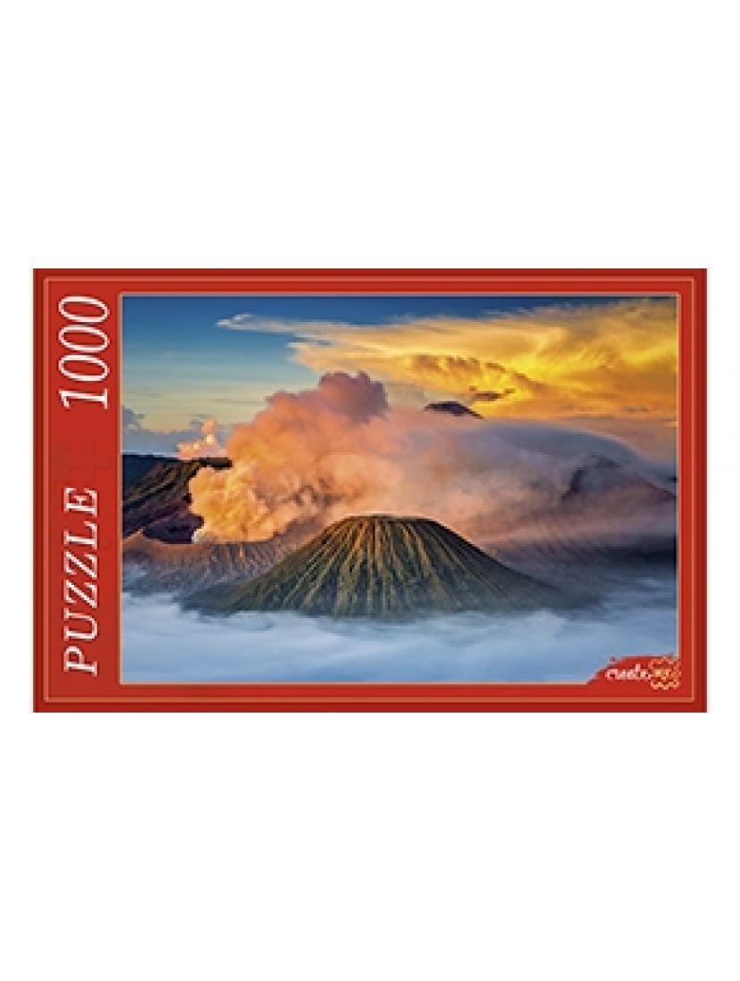 Пазл «Вулканы в Индонезии» 1000 элементов