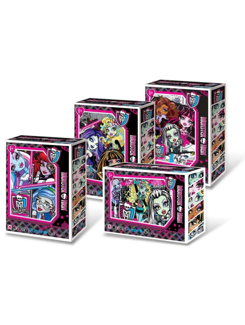 Пазл   «Monster High» 54 элемента