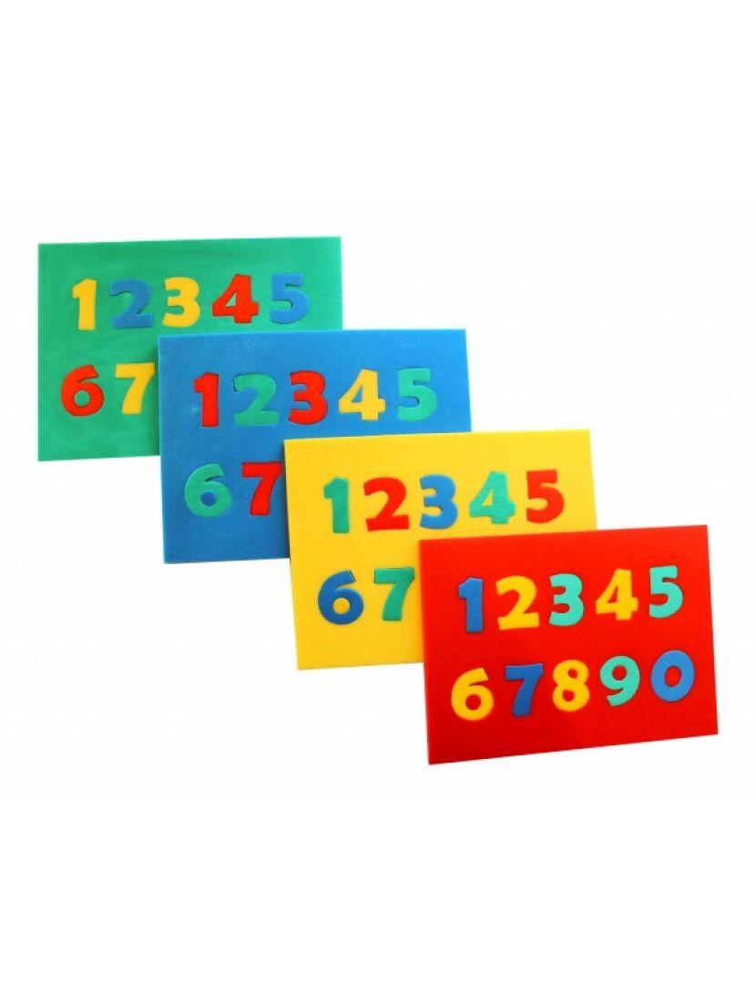 Пазл-мягкий «Цифры»