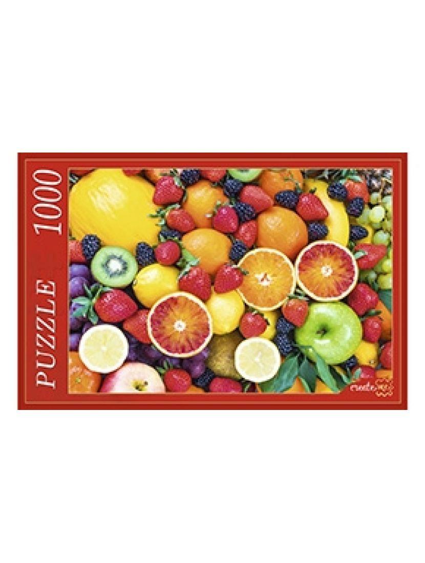 Пазл «Сочные фрукты и ягоды» 1000 элементов