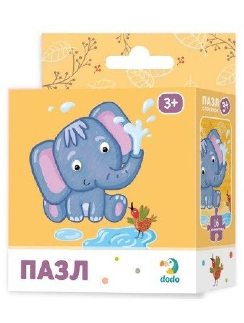 Пазл «Слоненок» 16 элементов