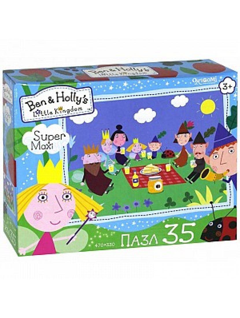 Пазл «Ben & Holly. Пикник» 35 элементов