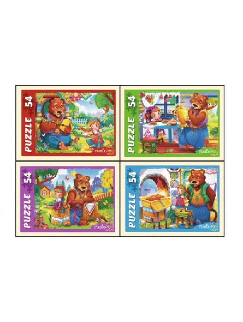 Пазл «Маша и медведь» 54 элемента