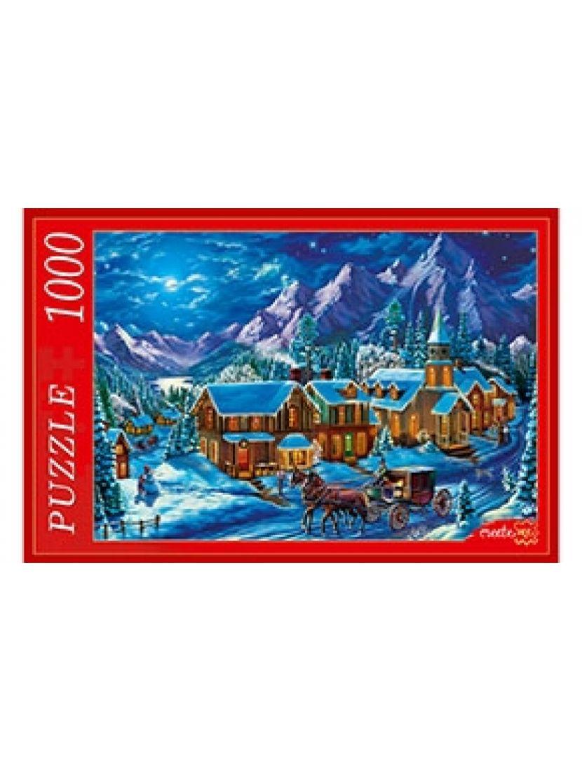 Пазл «Снежные горы» 1000 элементов