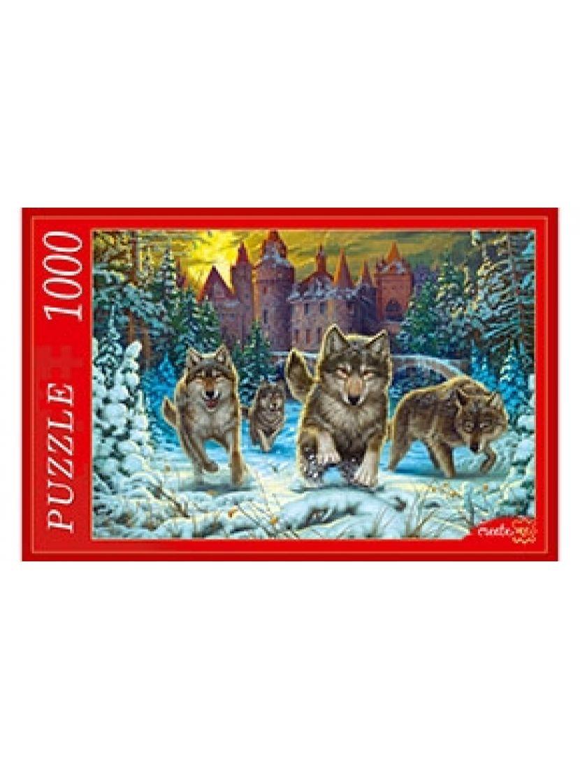 Пазл «Волки и замок» 1000 элементов