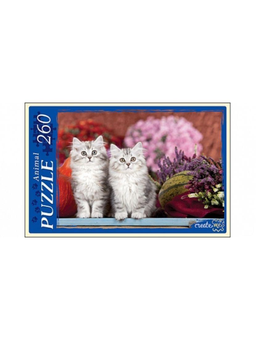 Пазл «Серые котята» 260 элементов