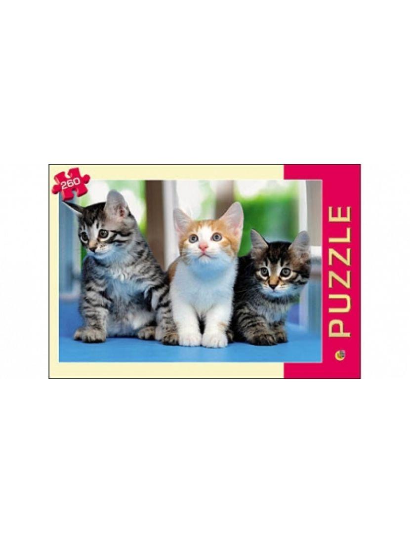 Пазл «Три котенка» 260 элементов