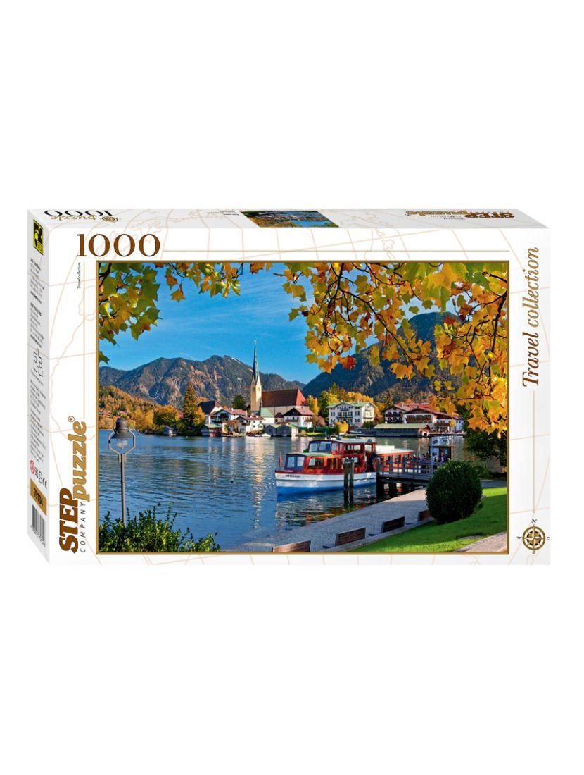 Пазл «Озеро Тегернзее, Бавария» 1000 элементов