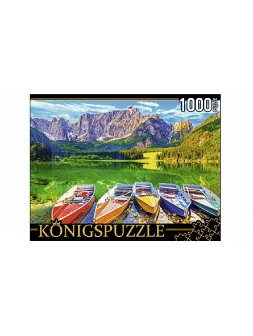 Пазл «Озеро Фцзине, Италия» 1000 элементов