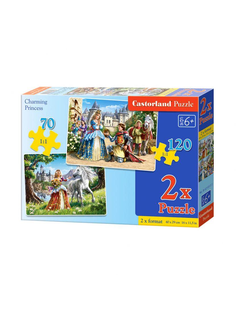 Пазл «Принцессы» 70, 135 элементов