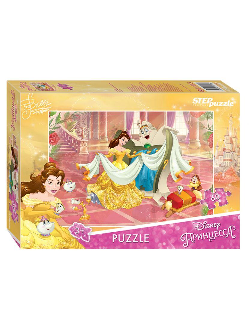 Пазл «Красавица и Чудовище - 2 (Disney)» 60 элементов