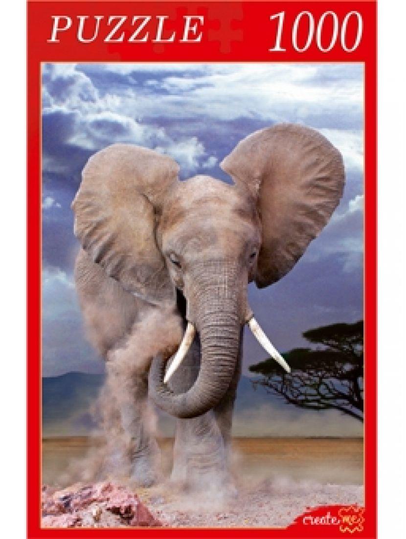 Пазл «Могучий слон» 1000 элементов