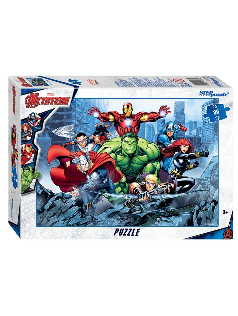 Пазл   «Marvel: Мстители - 3» 35 элементов