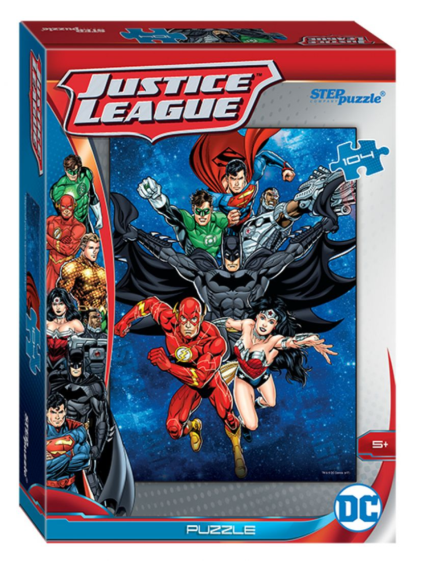 Пазл   «Лига справедливости» 104 элемента