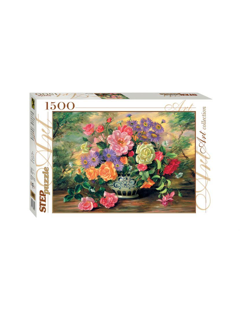 Пазл  «Цветы в вазе» 1500 элементов